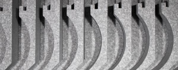 rund Rollladenkasten D/ämmung ROKA-ASS/® 2-tlg Verschlu/ßdeckel 175 mm St/ärke 15 mm DiHa Rollladenkasten-Isolierung